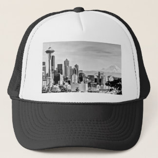 Seattle Skyline Trucker Hat