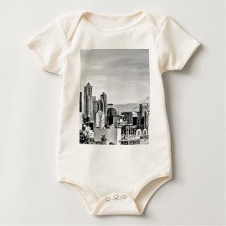 Seattle Skyline Baby Bodysuit