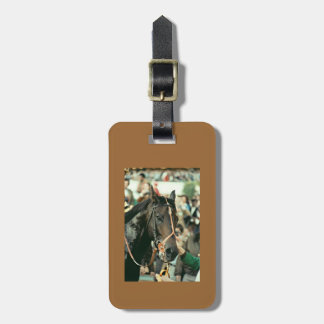 Seattle Slew Thoroughbred 1978 Bag Tag