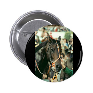 Seattle Slew Thoroughbred 1978 Button