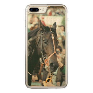 Seattle Slew Thoroughbred 1978 Carved iPhone 8 Plus/7 Plus Case