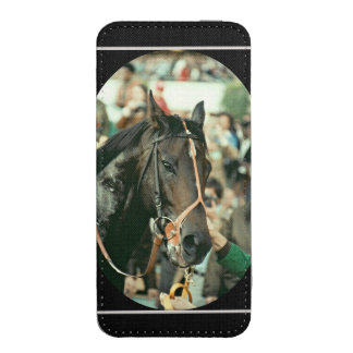 Seattle Slew Thoroughbred 1978 iPhone 5 Pouch
