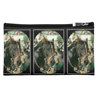 Seattle Slew Thoroughbred 1978 Cosmetic Bag