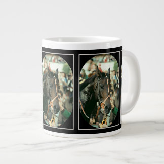 Seattle Slew Thoroughbred 1978 Giant Coffee Mug