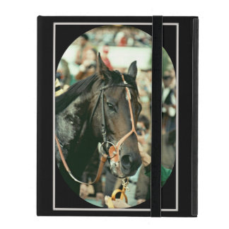 Seattle Slew Thoroughbred 1978 iPad Case