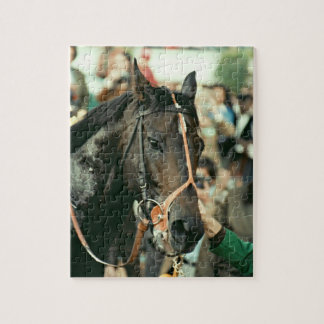 Seattle Slew Thoroughbred 1978 Jigsaw Puzzle