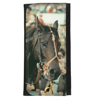 Seattle Slew Thoroughbred 1978 Leather Wallet