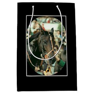 Seattle Slew Thoroughbred 1978 Medium Gift Bag