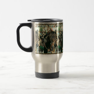 Seattle Slew Thoroughbred 1978 15 Oz Stainless Steel Travel Mug