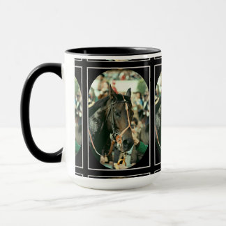 Seattle Slew Thoroughbred 1978 Mug