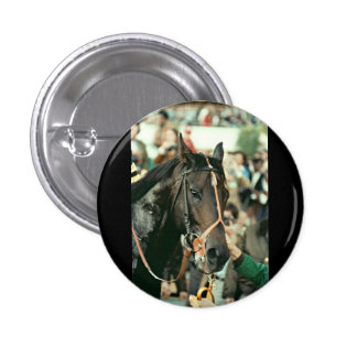 Seattle Slew Thoroughbred 1978 Pinback Button