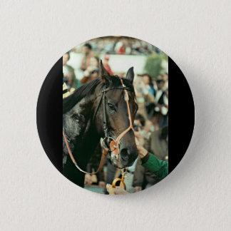 Seattle Slew Thoroughbred 1978 Pinback Button