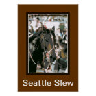 Seattle Slew Thoroughbred 1978 Poster