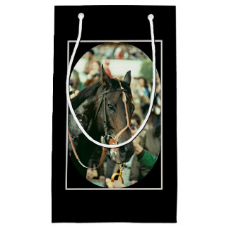 Seattle Slew Thoroughbred 1978 Small Gift Bag