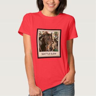 Seattle Slew Thoroughbred 1978 Tee Shirt