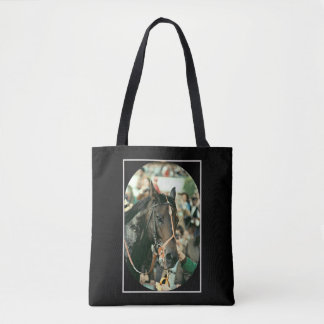 Seattle Slew Thoroughbred 1978 Tote Bag
