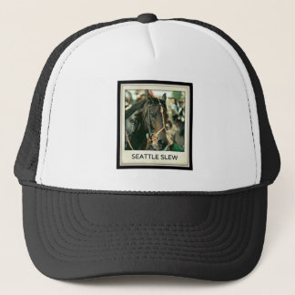 Seattle Slew Thoroughbred 1978 Trucker Hat