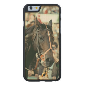 Seattle Slew Thoroughbred 1978 Carved® Maple iPhone 6 Case