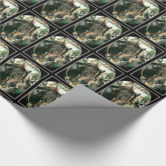 Seattle Slew Thoroughbred 1978 Wrapping Paper