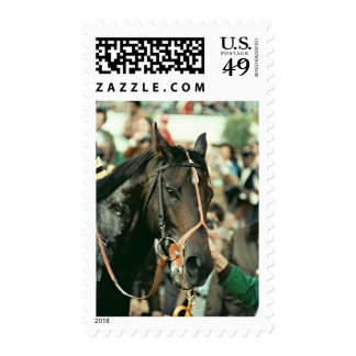 Seattle Slew Thoroughbred Racehorse 1978 Stamp