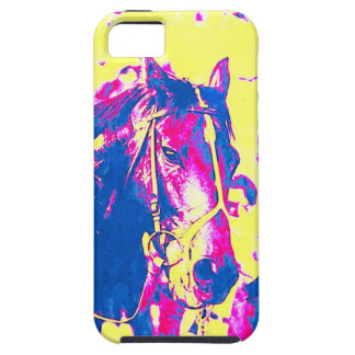 Seattle Slew Thoroughbred Racehorse Watercolor iPhone 5 Cover