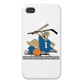 Seattle Sports Nut Case For iPhone 4