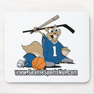 Seattle Sports Nut Mouse Pad