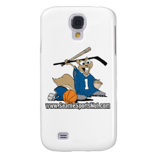 Seattle Sports Nut Samsung Galaxy S4 Cases