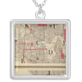 Seattle Square Pendant Necklace