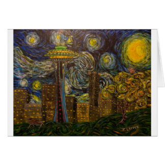 Seattle Starry Night (2015) Cards