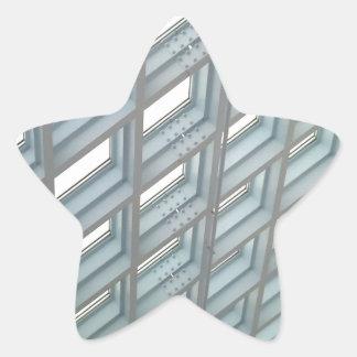 Seattle Structure Star Sticker