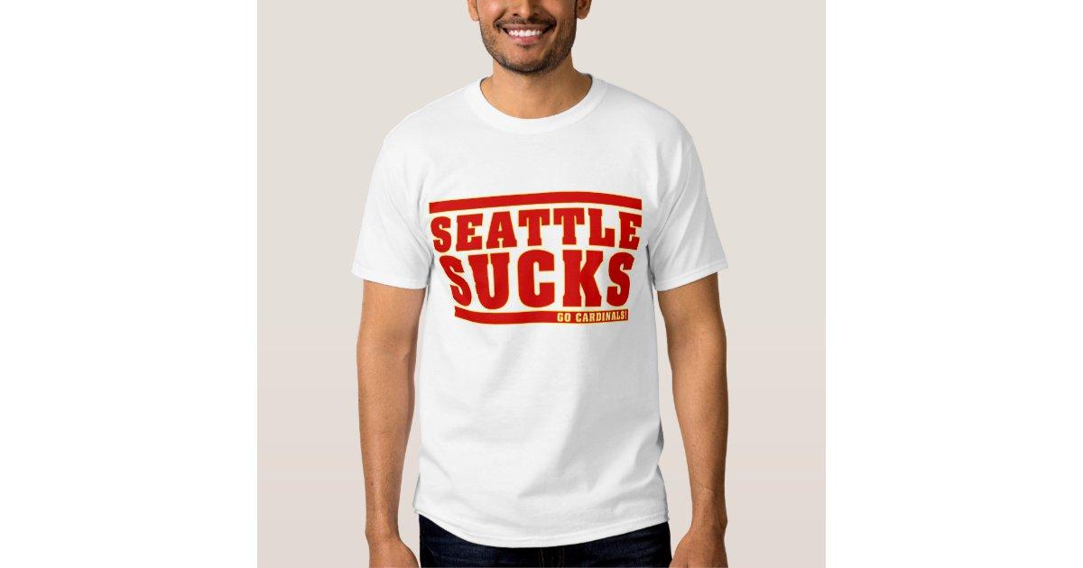 Seattle sucks t shirt zazzle for Seattle t shirt printing