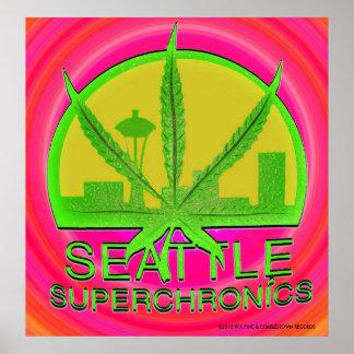 Seattle Superchronics Poster #1