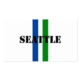 Seattle Tarjetas De Visita