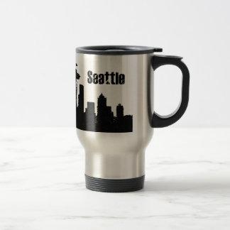 Seattle Taza De Viaje De Acero Inoxidable