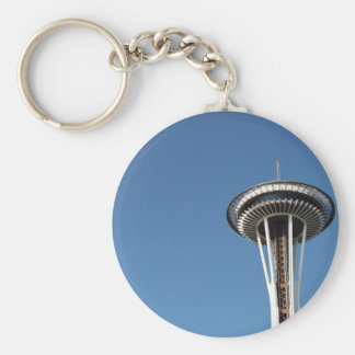 Seattle Themed, Famous Landmark, The Space Needle, Keychain