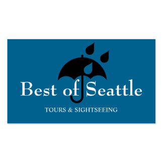 Seattle Tourist Coordinator Travel Agent Business Card