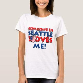 SEATTLE USA designs T-Shirt