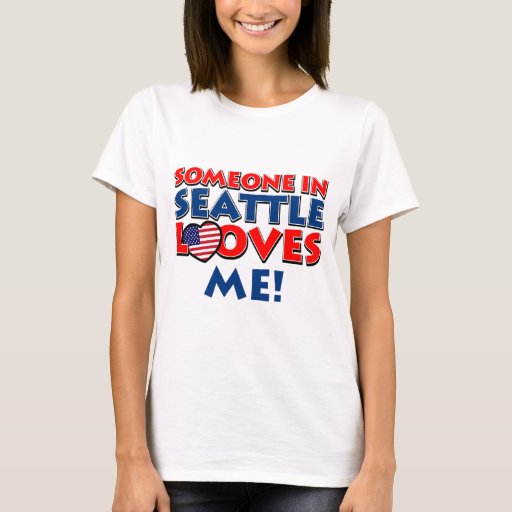 Seattle usa designs t shirt zazzle for Seattle t shirt printing