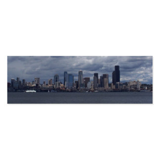 Seattle View Business Card Templates