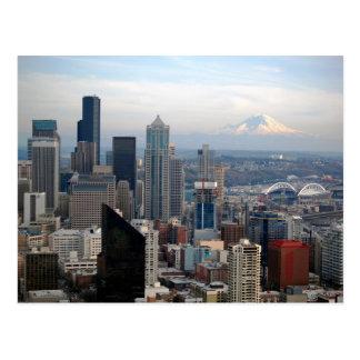 Seattle View Postcard