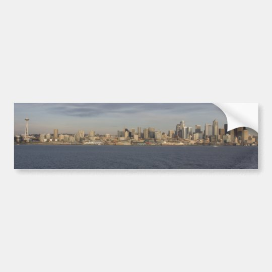 Seattle, WA Bumper Sticker