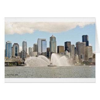 Seattle, WA Card