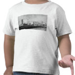 Seattle, WA - centro ferroviario de Seattle y Camiseta