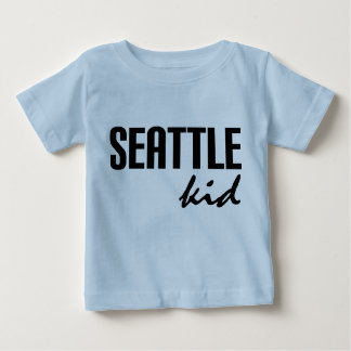 Seattle WA embroma la camiseta infantil