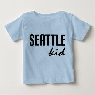 Seattle WA embroma la camiseta infantil Playera Para Bebé