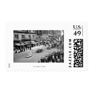 Seattle, WA Forth of July Parade on Seneca Stamps