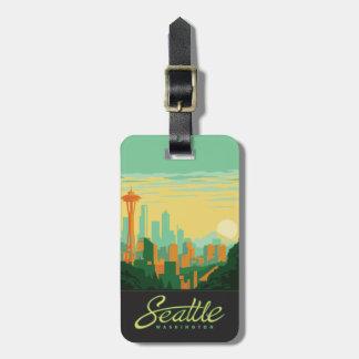Seattle, WA Luggage Tag
