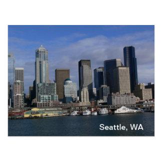 Seattle WA, postcard