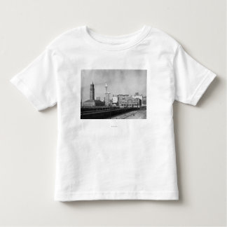 Seattle, WA - Seattle Railway Center and Smith Toddler T-shirt